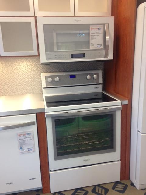 Steampunk Kitchen Appliances Whirlpool White Ice Collection – Appliance Man